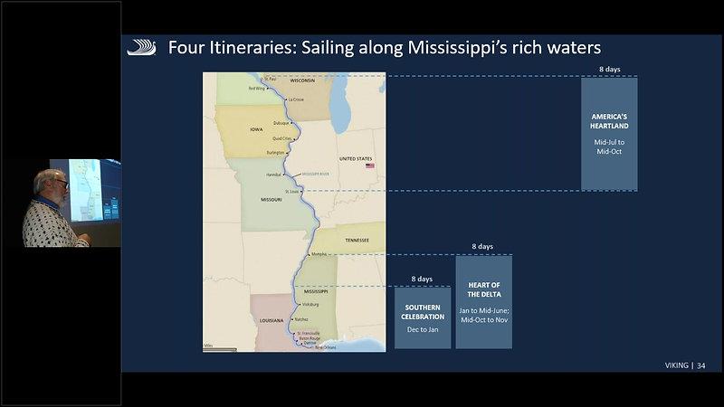 Viking Cruises on the Mississippi