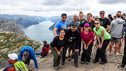 Hiking the Lysefjord in Norway