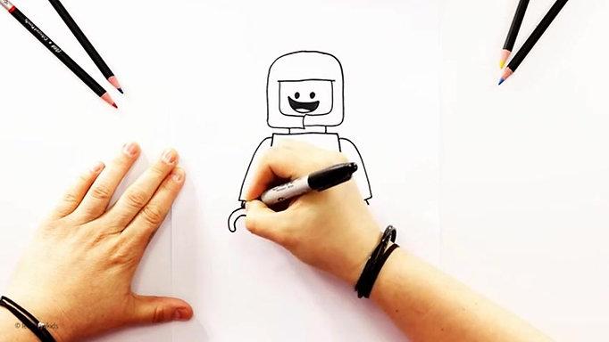 DRAW IT - LEGO Benny