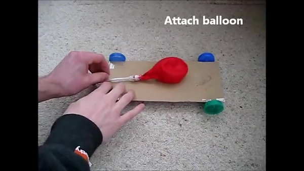 MAKE IT - Balloon Car