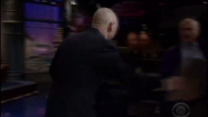 David Letterman as Klaus.