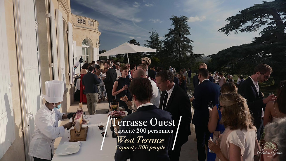 Your wedding at Château Gassies