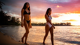 Aisha & Tani Modeling