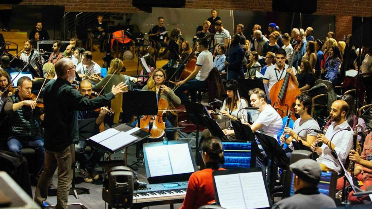The Phantom of the Opera // Stan conducts sitzprobe in Istanbul