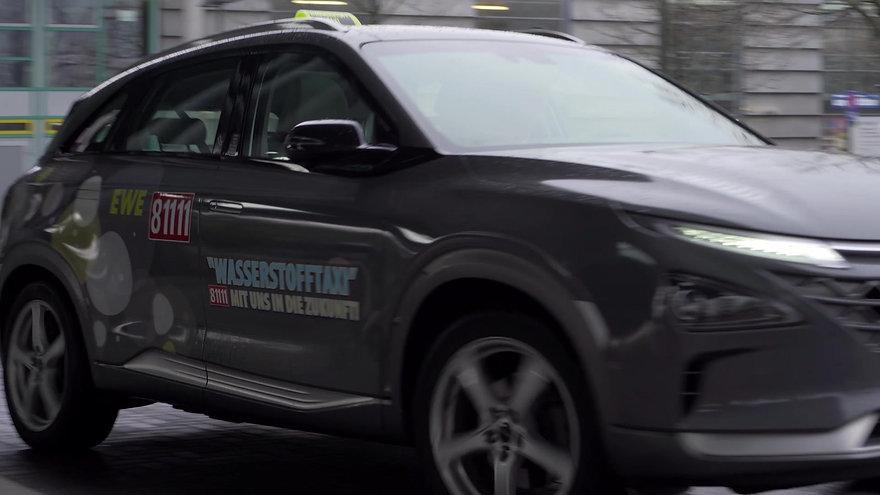Hyundai – Nexo im Einsatz