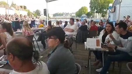 """""""Viens on s'aime """" - Sérénade le 25 juin 2019 - Halte fluviale 53 LAVAL"""