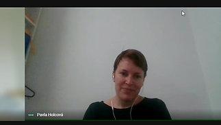 Interview with Pavla Holcová