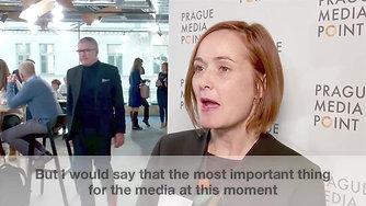 Dragana Zarkovic Obradovic at Prague Media Point 2019
