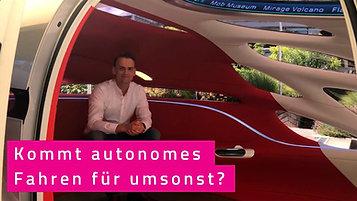 Autonomes Fahren.