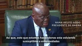 Presidente de Ghana destapa la plandemia (subtitulado)