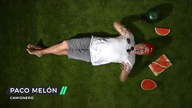 A Paco Melón el cuerpo le pide sandía Foodie.