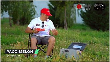 Paco Melón en el monte y Melón de Autor.