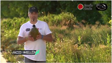 Paco Melón y su melón con jamón.