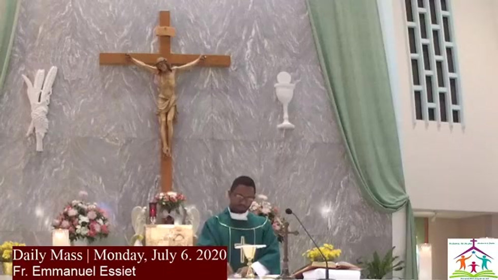 Daily Mass July 6th 2020
