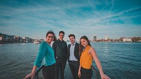 Maat Saxophone Quartet - Debut CD by Maat - voordekunst