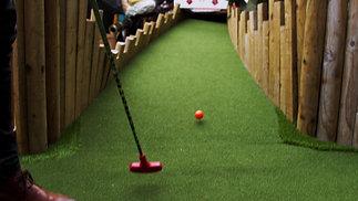 Mini-Golf: Flowerbowl Barton Grange
