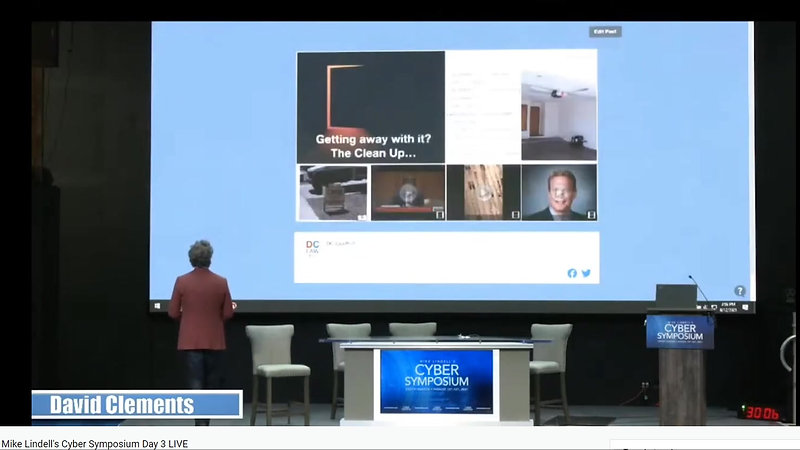 Mike Lindell's Cyber Symposium Day 3 LIVE - THE PARABLE