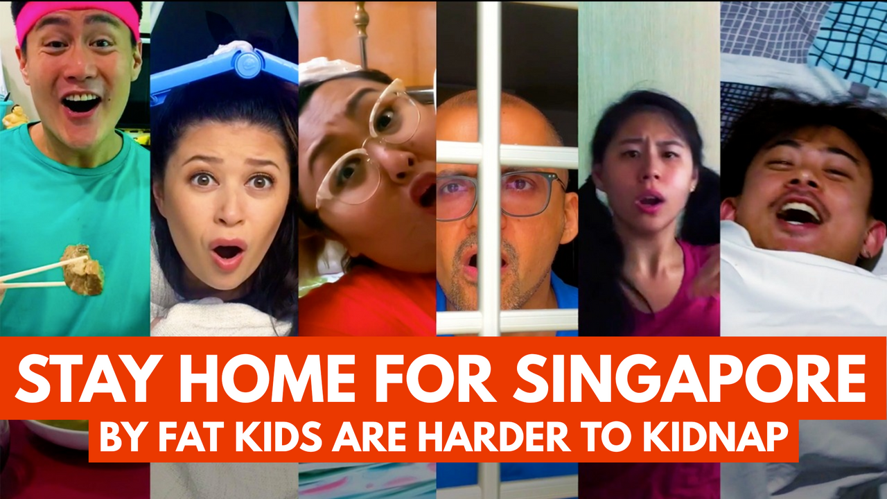 Stay Home For Singapore