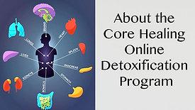 About the Online Core Healing Detox Program