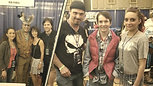 The king of disco at comiccon by_ MBQ Productions _HQ