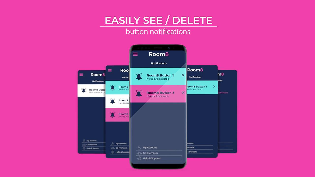 Room8 Button App Video