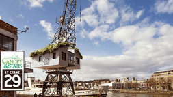 Building the world's first treehouse on a crane in Bristol