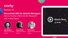 Episode 15: Household 360 for Wealth Managers. How to deliver a data-centric blueprint with a Data Fabric