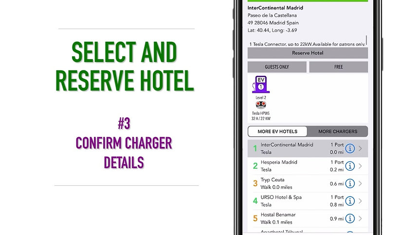 Complete Quick Start Guide to Using the EVHotels App