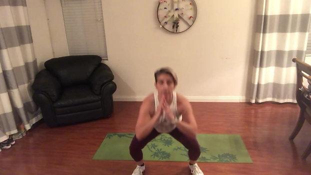 TABATA #1 (Bodyweight 20-10 intervals)(8 min)