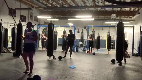 Glow stick workout