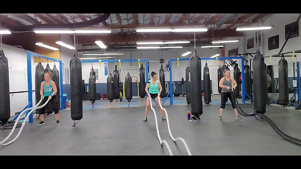 Battling Ropes 35 min. HIIT / Cardio Workout