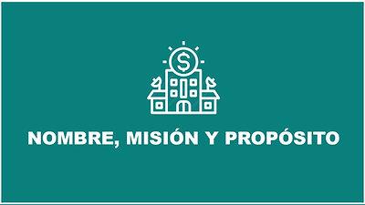 Cap. 1- Nombre, Misión y Propósito