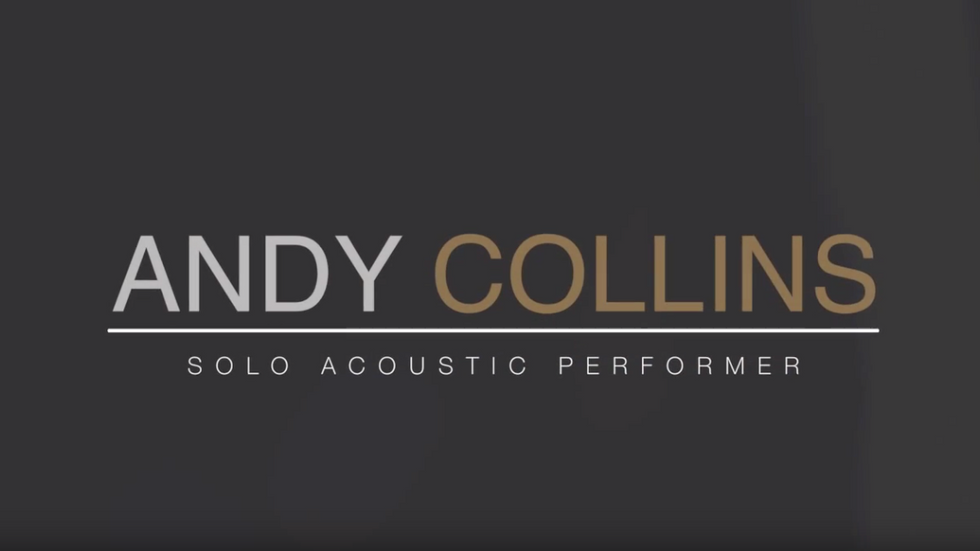 Andy Collins   Solo Acoustic Performer   Promotional Video