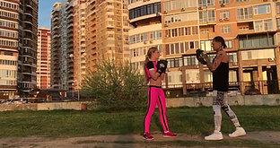 Фитнес Бокс - Тренировки на улице