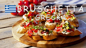 Film kulinarny - Grecka bruschetta z fetą