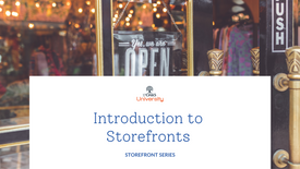 Introduction To Storefront Businesses