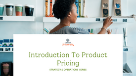 Introduction to Product Pricing