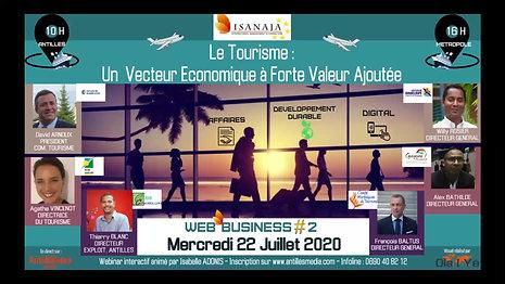 WEB BUSINESS #2 - LE TOURISME