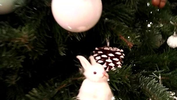 Новогоднее украшение елок