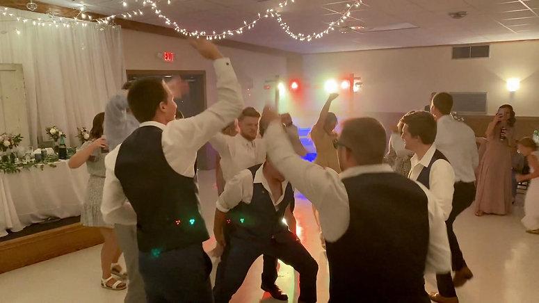 Berheide-Krouse wedding reception