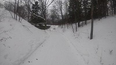 MBABUM Slow TV:  Ski  de fond au Mont-Royal