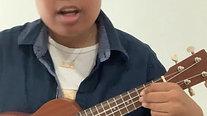 "Alek Tabu Ukulele and Singing ""Leave the Door Open"" by Bruno Mars"