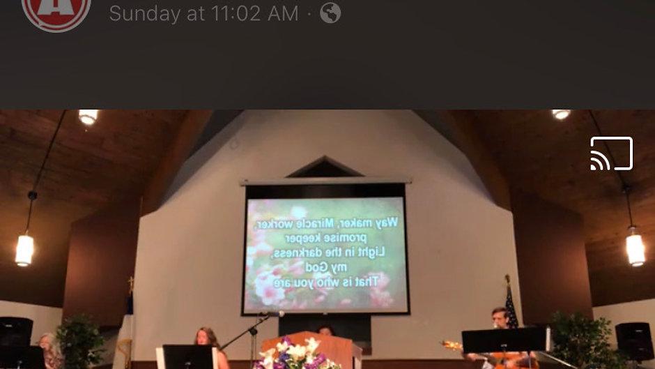 Athens Christian Church on Facebook 8-02-20
