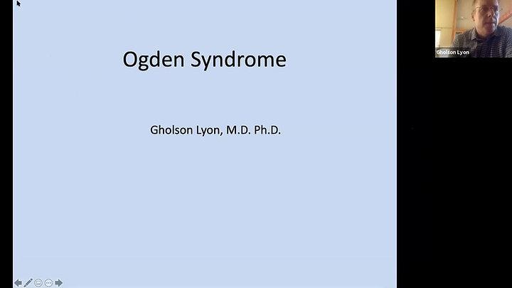 Ogden Syndrome Research Presentation
