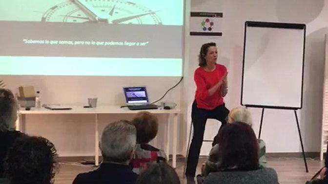 """Ponencia """"Descubre tu brújula interior"""" en Fundació Rovira - Enero 2018"""