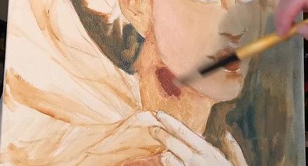 Oil Paint Process