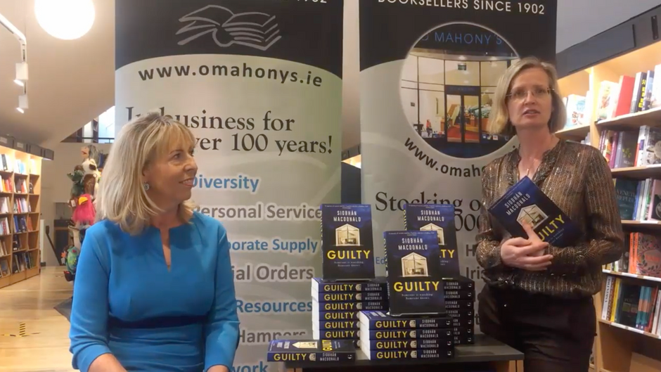 GUILTY Book Launch at O'Mahony's