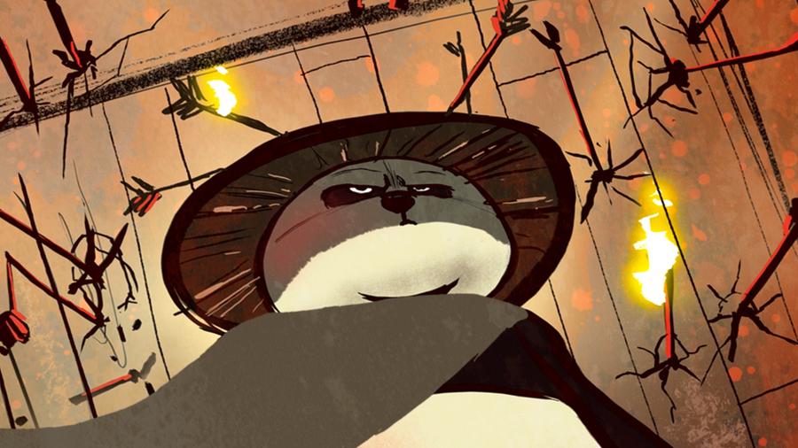 Kung Fu Panda: Paws of Destiny Intro