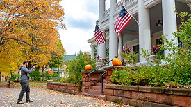 Fall at the Laurium Manor