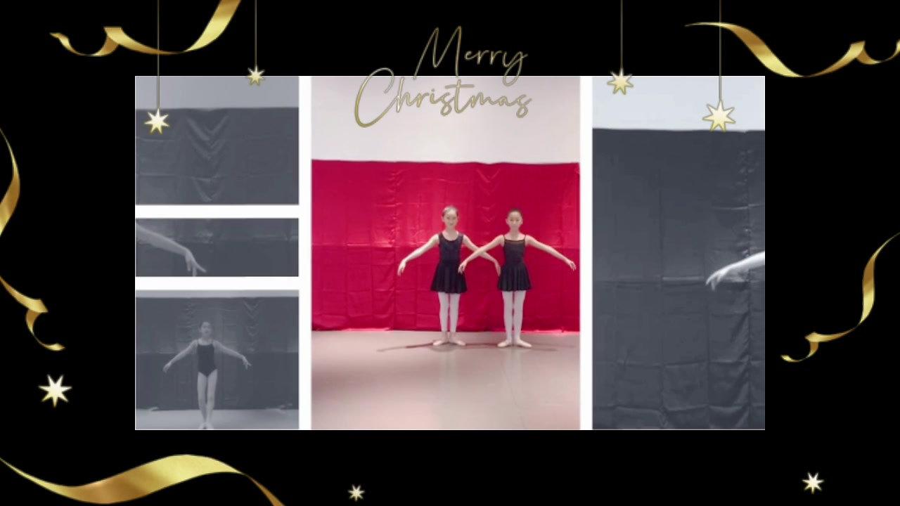 Ballet Blanc 祝願大家聖誕快樂、新年進步!!Season's greeting from BALLET BLANC!
